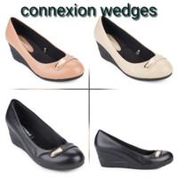 Connexion wedges sepatu