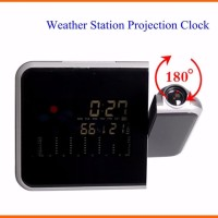 Harga promosi led light weather projector alarm clock 8190 unik bisa cek | Hargalu.com
