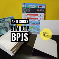 anti gores sim ktp bpjs id card hp