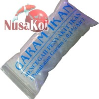 Garam Ikan / Garam Grosok / Garam Kasar untuk Pengobatan Ikan 400gr