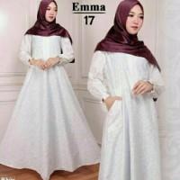 promo Baju Muslim Maxi Emma model gamis terbaru wanita smart