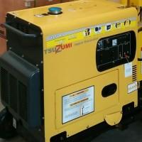 SALE PROMO Promo Genset silent Diesel 7000 watt 1 phase murah