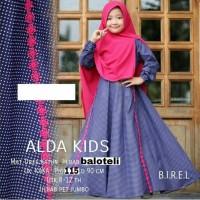 PROMO SALE setelan gamis anak perempuan baju muslim alda kids ORINAUR
