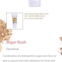 Sugar Rush Face Scrub pembersih wajah  emina