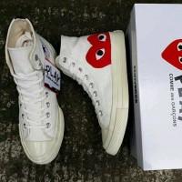 Sepatu Converse 70s CDG x Play Pria Diskon