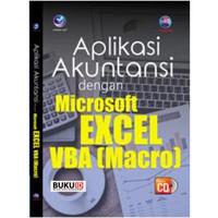 Buku Aplikasi Akuntansi Dengan Microsoft Excel VBA (Macro)+cd