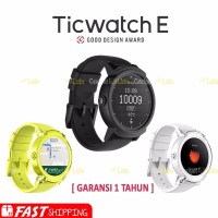 Ticwatch E Express Smartwatch with Google Assistant and Heart Rate M