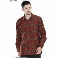 Kemeja Batik Pria Lengan Panjang Eksklusif Baju Batik Terbaru 2018