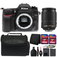 Nikon D7200 24.2MP DSLR Camera with 18-140mm Lens and Great Value Kit