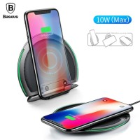 Baseus Foldable Qi Wireless Fast Charging Pad for S7/S8/S9 Plus/Note 8