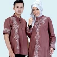 Jual Baju Koko Muslim Couple Pria 582-11 Murah