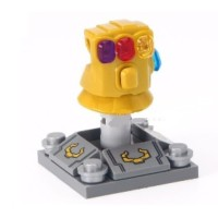 Jual Marvel Thanos Infinity Stone Gauntlet Sarung Tangan Minifigure Lego kw Murah
