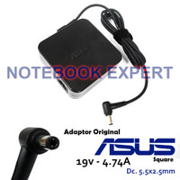 Charger ADAPTOR laptop Ori Asus X550 X550D X550DP X550Z 4.74 Square