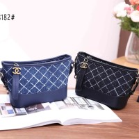 Chanel Combi Jeans Bag 8182 MX / Tas Wanita / Tas Cewek