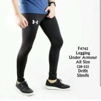celana legging leging training pria futsal gym fitness kiper olahraga