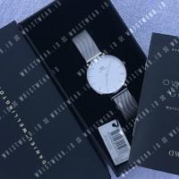 Jam Daniel Wellington DW Classic Petite Sterling 32mm Silver Original