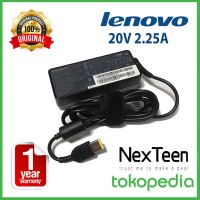 Adaptor Charger Laptop Lenovo 20v 2.25a S215 Yoga 300 - USB TYPE