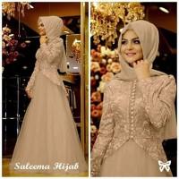 TERLARIS syari Gamis Baju Kekinian Wanita Muslim Salema Syari beautif