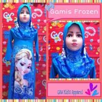 MODEL BARU Baju Premium Muslim Anak Frozen pakaian muslim pria wanita