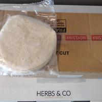 Mission Tortilla Flour/ Tortila Wrap/ Tortilla Skin/ Kulit kebab 8'