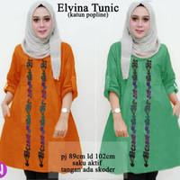63178 elvira tunic/baju tunik/atasan muslim wanita/baju muslim murah