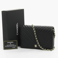 TAS Chanel WOC 8801 with Box d6ab88dbf6