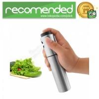 Botol Spray Pump Minyak Olive Oil Stainles Steel 100ml - Silver