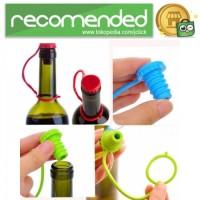 Tutup Botol Bir Silicone Anti Lost - Multi Warna