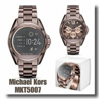 ORI LEATHER JAM MICHAEL KORS MK5007 SMARTWATCH BRONZE ORIGINAL