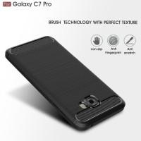 Promo Samsung C7 C9 Pro Spigen Like Cover Softcase Carbon Hp Case