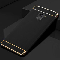 3 in 1 Case Samsung Galaxy A8 2018 A8+ Plus 2018 Back Cover Casing