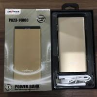 Powerbank Advance PA23-14000 14000mAh Kapasitas Besar Garansi 1 Tahun