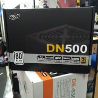 POWER SUPPLY DEEP COOL  DN 500 DN500 500 WATT 80+ ALL FLAT CABLE