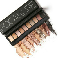 NAKED EYESHADOW PALETTE FOCALLURE 10 COLOR