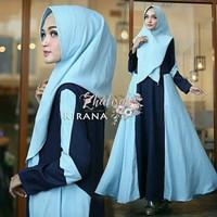 Gamis wanita muslim dress kirana syari