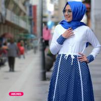Gamis wanita muslim dress laura