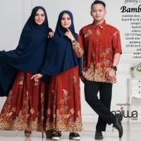 Diskon Gamis Dress Baju Muslim Couple Sarimbit Ibu Anak Ayah Keluarga