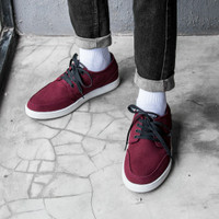 Sepatu Sneakers Kets AUTHENTIC PORT ROYALE WHITE Geoff Max Original