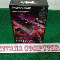VGA Card PCI Radeon  Power Color  HD 6570 DDR3 1GB