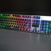 Keyboard Mechanical Digital Alliance K1 Plus RGB Meca - Blue Switch