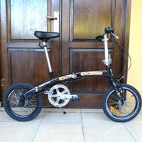 Sepeda Lipat 16 Alloy United Norm
