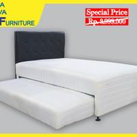 Kasur Spring Bed 2in1 Full Set 100x200