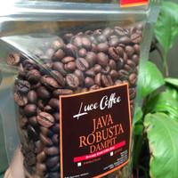 Jual Kopi Java Robusta Dampit 900gr - Luce Coffee - Biji atau Bubuk Murah