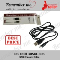 Kabel Data USB Charger Nintendo DS DSi LL 3DS 3DSXL