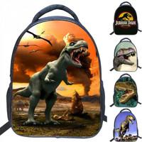 tas sekolah original Girls ransel Tyrannosaurus Siswa Anak baru import