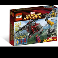 Jual Lego superhero 6866 wolverine's chopper Murah