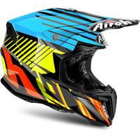 Airoh Twist Strange Blue size L, Motocross Helmet