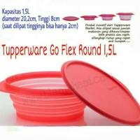 Goflex Round Tupperware 1.5L Go Flex