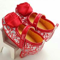 Jual Sepatu anak bayi perempuan prewalker high heels import Murah
