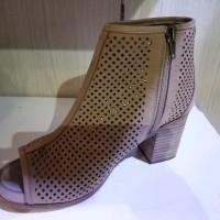 Best TOP Sepatu Boots wanita Coklat Hush Puppies